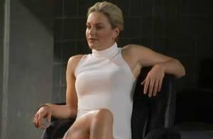 Quand la sexy Lindsey Vonn se prenait pour Sharon Stone dans