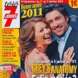 La couverture de Télé 7  Jours du 1er janvier 2011