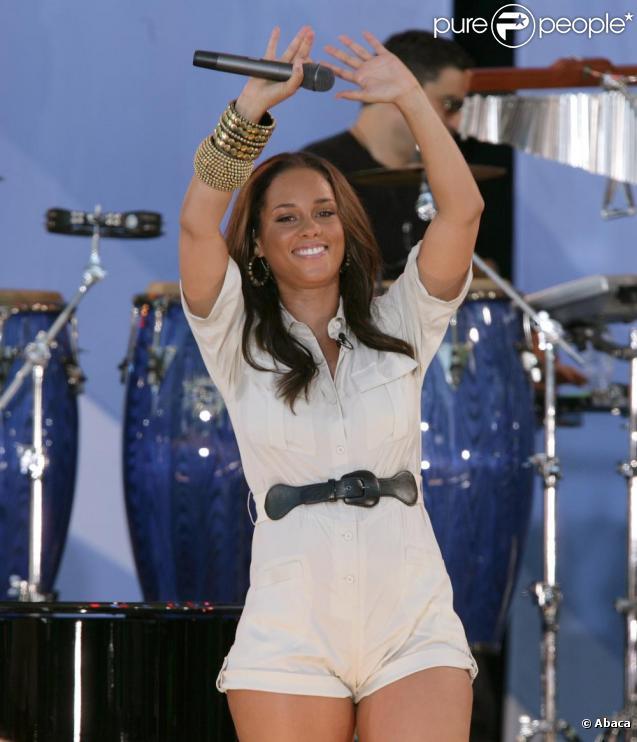 Alicia Keys fait partie des stars les plus charitables de l'année 2010.