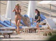 Tamara Mellon : La reine des chaussures s'exhibe en bikini à Saint-Barth' !