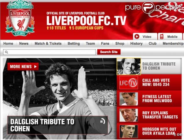 Le footballeur israélien Avi Cohen, victime d'un accident de moto le 20 décembre, a été déclaré en état de mort cérébrale mardi 28 décembre 2010, a indiqué le site de son ancien club de Liverpool.