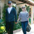 Reese Witherspoon et Jim Toth faisant du shopping à Malibu en septembre 2010