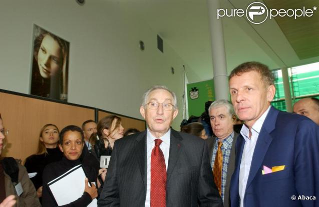 Patrick Poivre d'Arvor lors de l'inauguration de la Maison de Solenn en 2004 à PAris