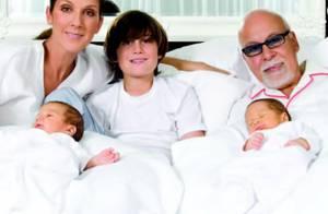 Céline Dion réunit son mari René et leurs trois enfants pour de tendres voeux !