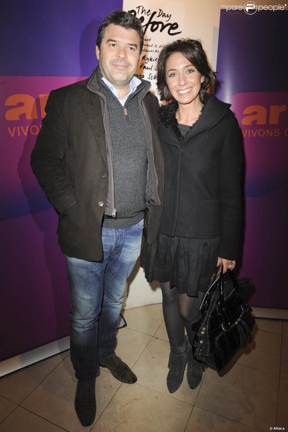Virginie guilhaume et son mari st phane g teau purepeople - Stephane plaza et son mari ...
