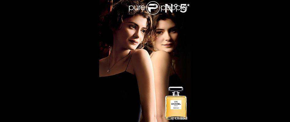 Audrey Tautou pour le Chanel N°5. 2009...