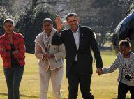 Barack Obama : Retour au boulot... entouré des femmes de sa vie !