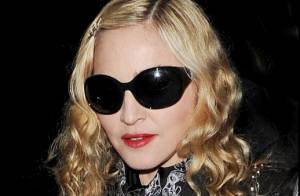 Madonna : Sortie nocturne en femme fatale avec un beau Français...