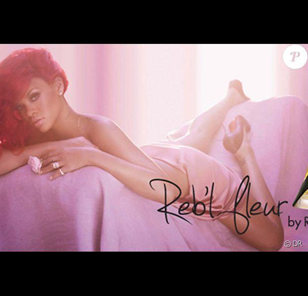 Rihanna sort son parfum Reb'l Fleur en février 20141