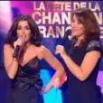 La fête de la chanson (France 3)  Jenifer chute après son titre Je danse