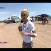 Elodie Gossuin a eu un accident en direct, en plein Dakar !