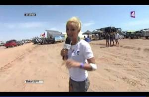 Elodie Gossuin a eu un accident en direct, en plein Dakar !