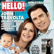 John Travolta et Kelly Preston vous présentent leur adorable petit Benjamin !
