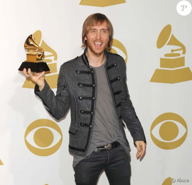 David Guetta aux Grammy Awards, Los Angeles, le 31 janvier 2010