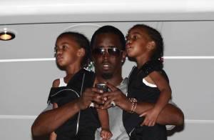P. Diddy : entre  ses jumelles et son ex, très dénudée... il est au top !