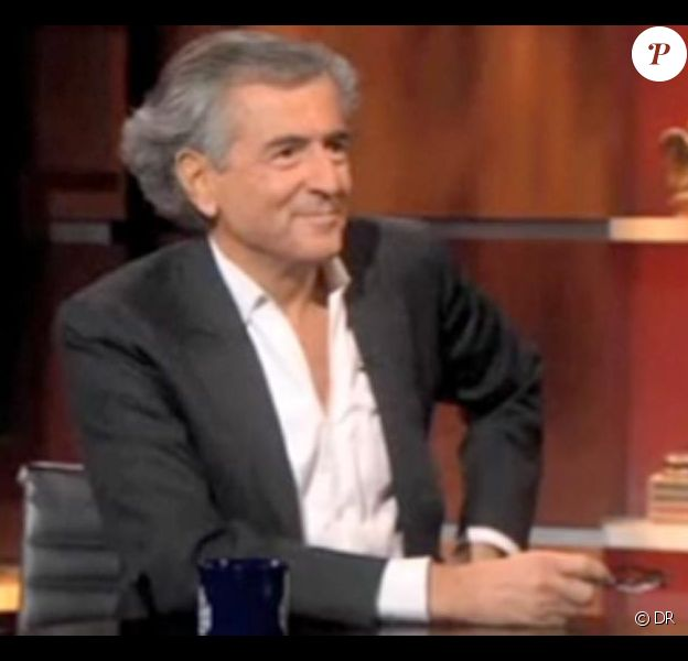 Bernard-Henri Lévy sur le Colbert show mercredi aux USA
