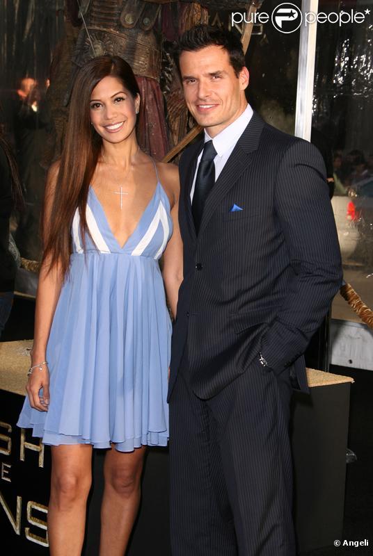 Antonio Sabato Jr et Cheryl Moana