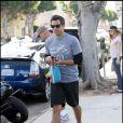 Jessica Alba et Cash Warren lors d'une promenade sous le soleil de Los Angeles