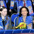Alexandra de Hanovre et Stéphanie de Monaco au 35e festival international du cirque de Monte-Carlo. 23/01/2011