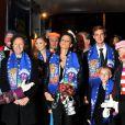 Le 22 janvier, Stéphanie de Monaco, Alexandra, Stéphane Bern, Pierre Casiraghi et sa douce Beatrice étaient réunis devant les numéros du 35e festival international du cirque de monaco.