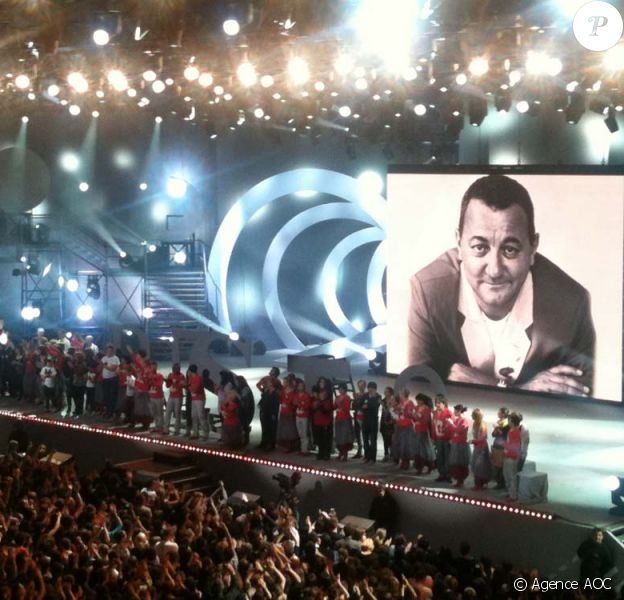 Dans l'oeil des Enfoirés, spectacle présenté à Montpellier, le 26 janvier 2011