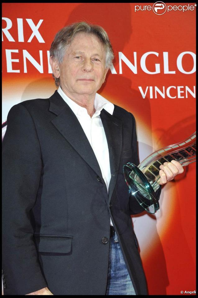 Roman Polanski, à l'occasion de la cérémonie du Prix Henri-Langlois, à Vincennes, le 31 janvier 2011.