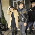 Kate Moss et Jamie Hince à Londres, le 2 février 2011.