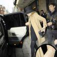 Kate Moss aurait acheté sa bague de fiançailles avec Jackie Hince, à Londres le 2 février 2011
