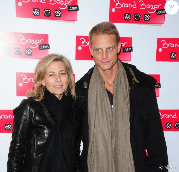 Claire Chazal et Arnaud Lemaire lors de la soirée Brand Bazar le 3 février 2011 à Paris