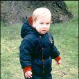 Le Prince William d'Angleterre le 15 décembre 1983