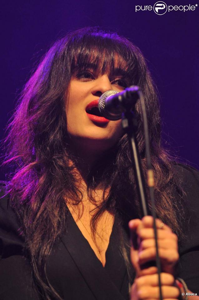 Camélia Jordana, Paris, le 8 novembre 2010