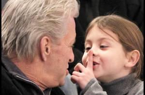Michael Douglas : Guéri et très en forme avec son adorable fille !