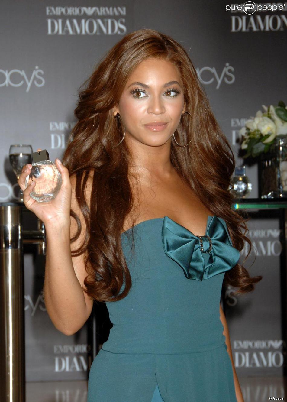 Fabuleux Beyoncé Knowles les cheveux extra-longs couleur marron glacé  JA33