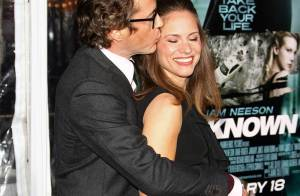 Robert Downey Jr. câline sa femme, devant Kim Kardashian et Liam Neeson !