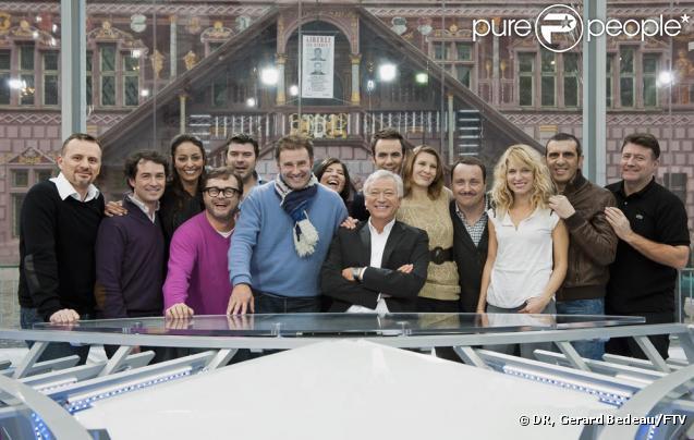 Toute l'équipe de Midi en France, avec Pierre Sled