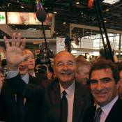 Jacques Chirac : Un accueil triomphal au salon de l'Agriculture !