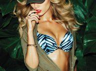 Maryna Linchuk, en opérations spéciales très sexy pour Victoria's Secret...