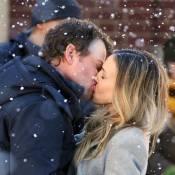 Sarah Jessica Parker : Un baiser fougueux et passionné sous la neige !