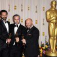 lors de la cérémonie des Oscars le 27 février 2011 à Los Angeles