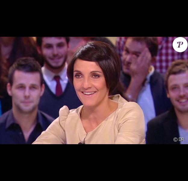 Florence Foresti, invitée du Grand Journal sur Canal + le 28 février 2011