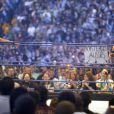 Mickey Rourke face à Chris Jericho