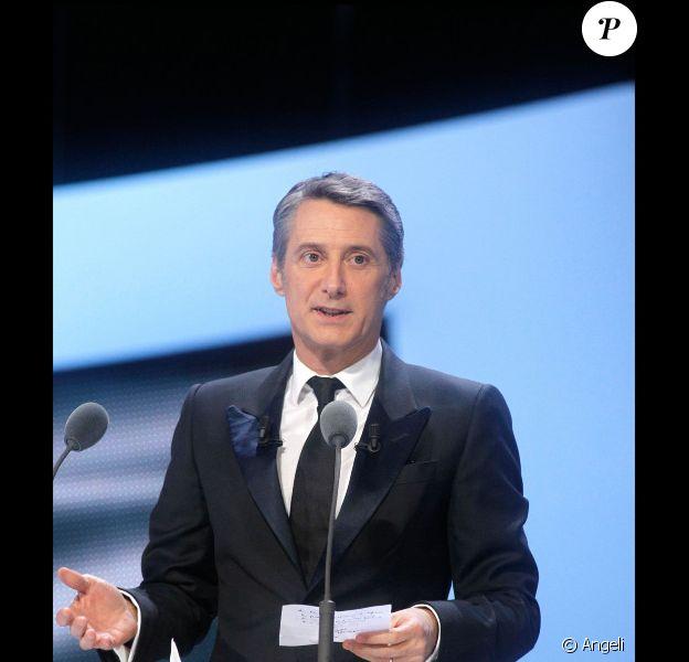 Antoine de Caunes présente la 36e cérémonie des César le 25 février 2011