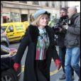 La mère d'Orlando Bloom, Sonia Bloom à Paris, le 3 mars 2011.