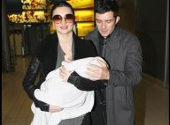 Orlando Bloom, sa sublime femme Miranda Kerr et leur adorable fils à Paris !