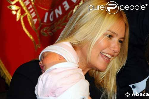 Valeria Mazza nous présente sa petite fille