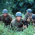 Des images de  The thin red line , de Terrence Malick, diffusé le 8 mars 2011, à 20h35, sur RTL9.