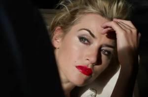 Kate Winslet métamorphosée en beauté blond platine pour un souvenir glamour...