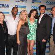 Charles Malik Whitfield, Jenny McCarthy, Scott Elrod et Courtney Henggeler à la première de The Allure of Love, sur Royal Caribbean's Allure of the Seas, à Fort Lauderdale, en Floride le 13 mars 2011