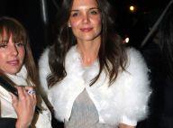 Katie Holmes affiche un look de princesse pour une nuit entre filles !