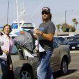Josh Holloway, un vrai papa poule avec sa fille. Ici en 2009.
